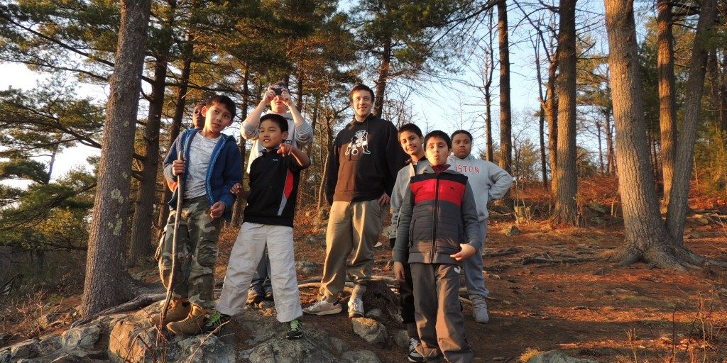 Healey Boys and Girls Club LMAF at Rocky Woods Reservation
